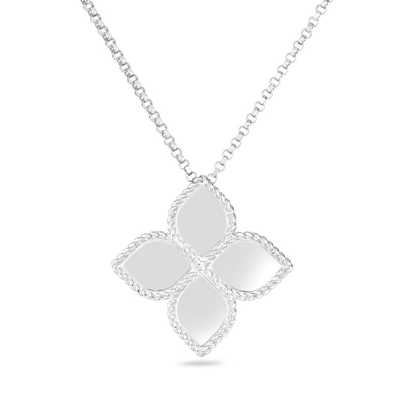 Princess Flower Pendant-Roberto Coin-Duncan & Boyd Jewelers