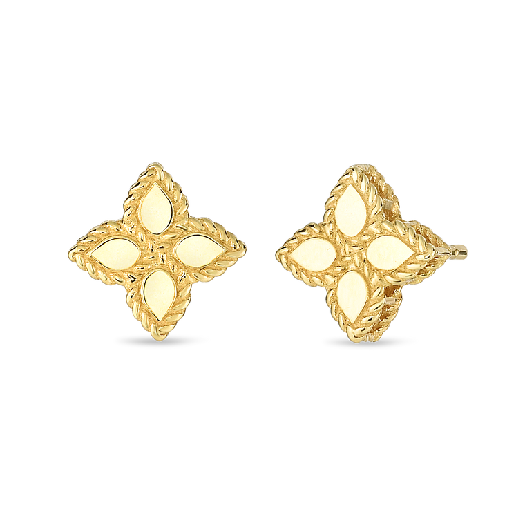 Princess Flower Studs-Roberto Coin-Duncan & Boyd Jewelers