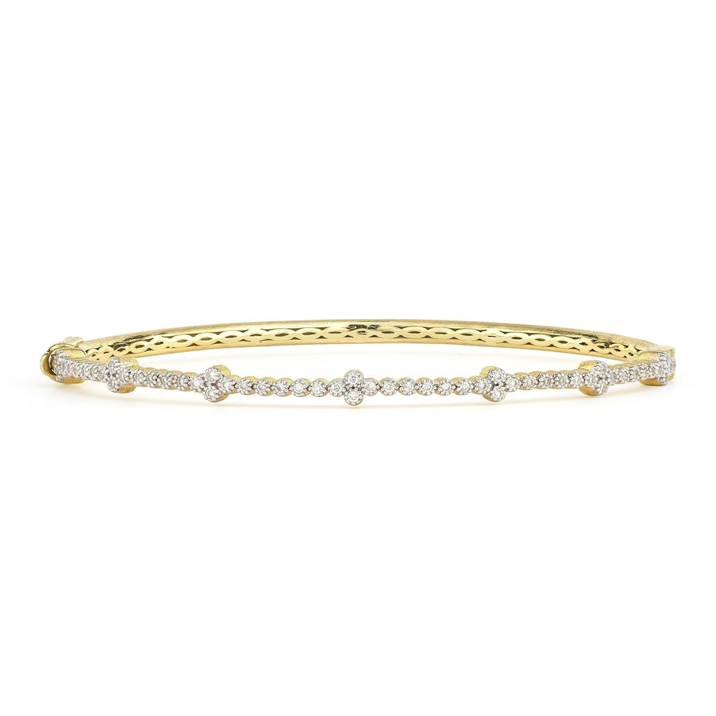 Provence Delicate Quad Bangle-Jude Frances-Duncan & Boyd Jewelers