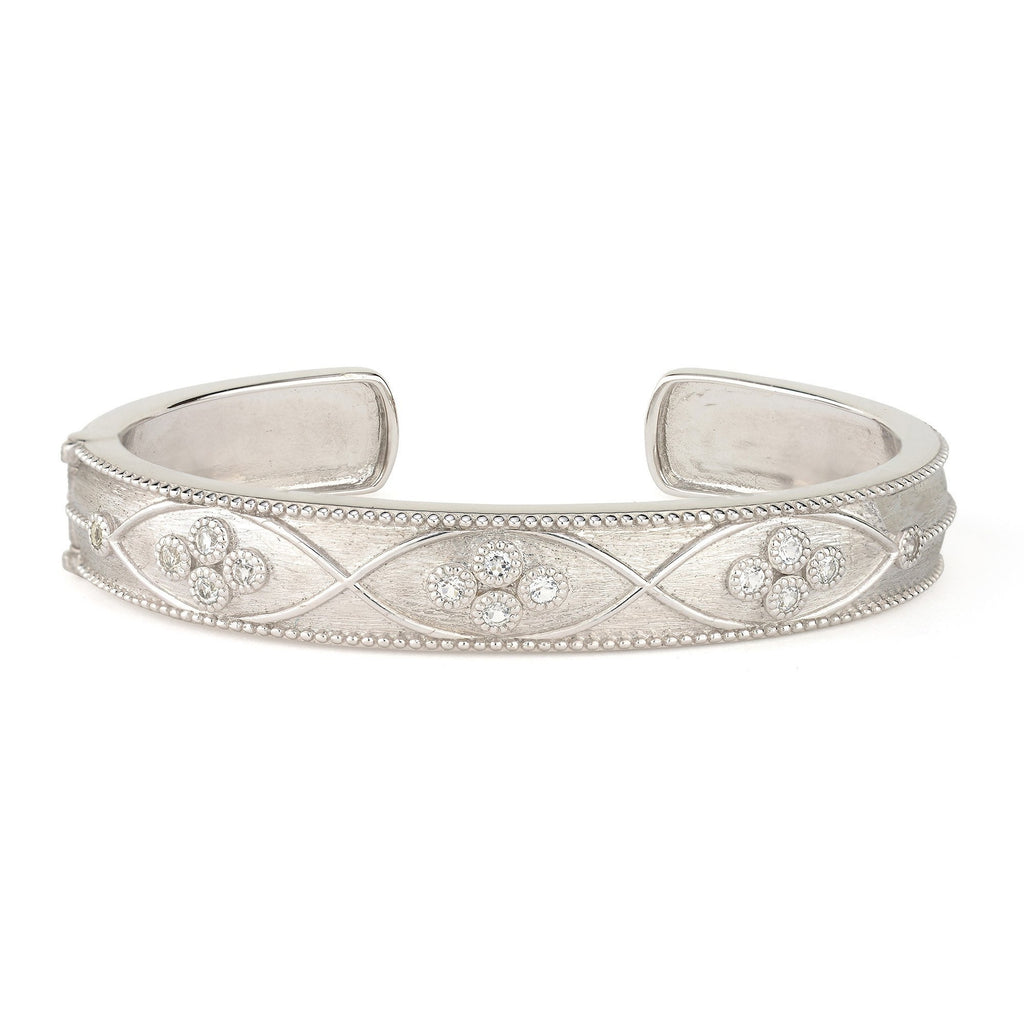 Provence Narrow Criss Cross Cuff-Jude Frances-Duncan & Boyd Jewelers