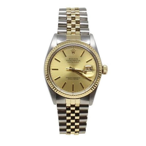 Rolex Two-Toned Datejust Watch-Rolex-Duncan & Boyd Jewelers