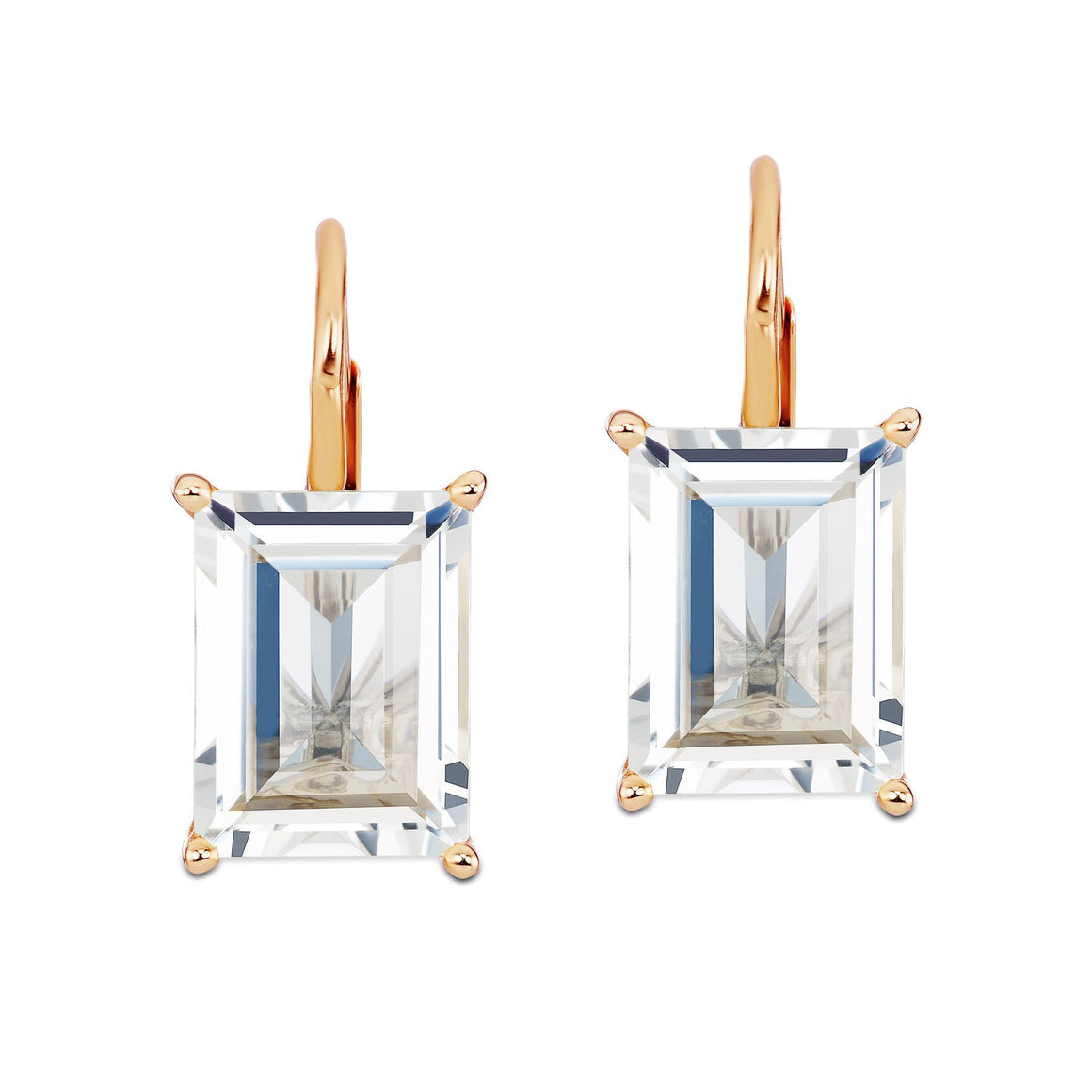 Rose Gold Drop Earrings-Jane Taylor-Duncan & Boyd Jewelers