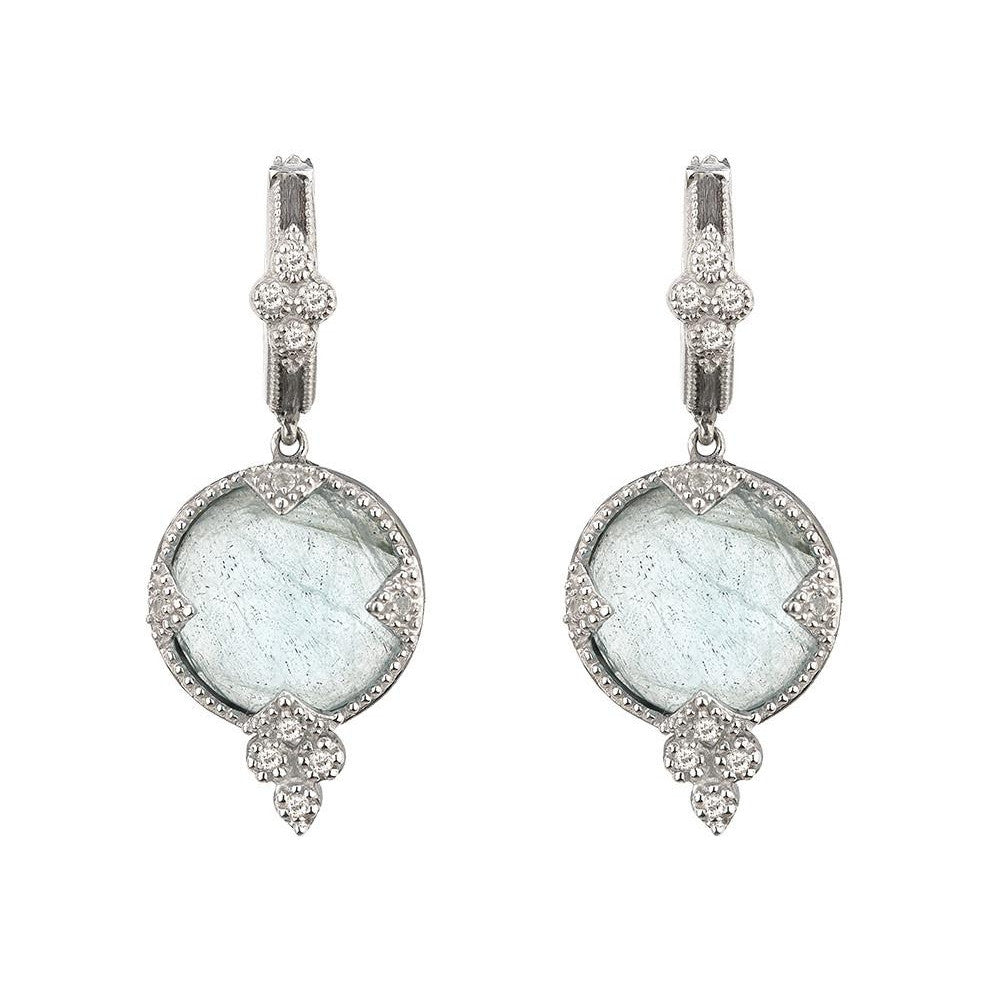 Round Stone Quad Earrings-Jude Frances-Duncan & Boyd Jewelers