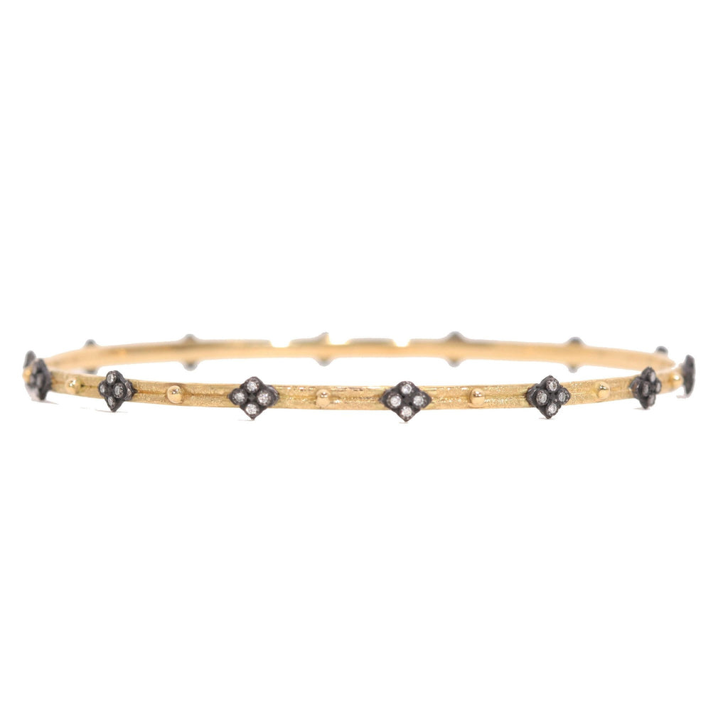 Skinny Crivelli Diamond Bangle-Armenta-Duncan & Boyd Jewelers