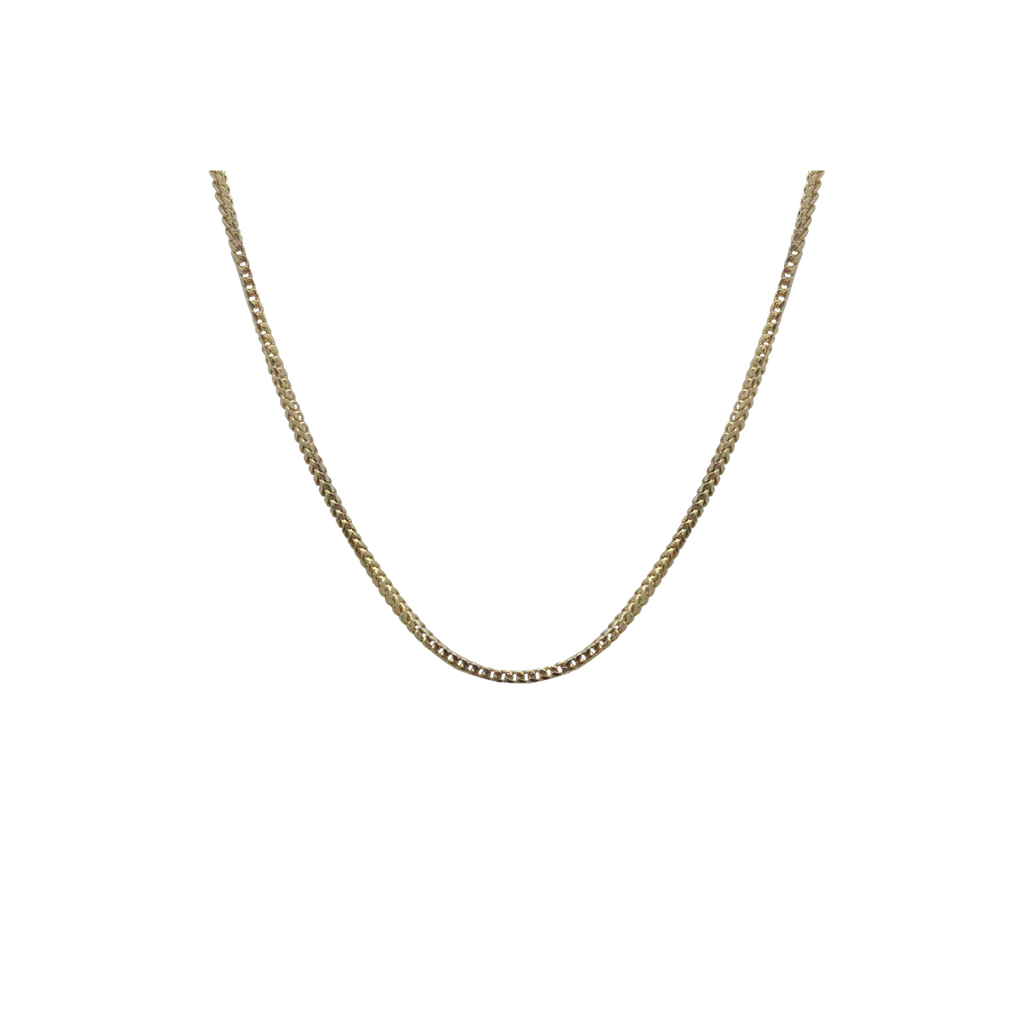 Small Gold Box Chain-Duncan & Boyd Jewelers-Duncan & Boyd Jewelers