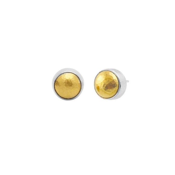 Small Round Amulet Stud Earrings-Gurhan-Duncan & Boyd Jewelers