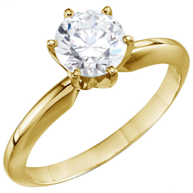 Solitaire 1.00 carat Engagement Ring-Duncan & Boyd Jewelers-Duncan & Boyd Jewelers