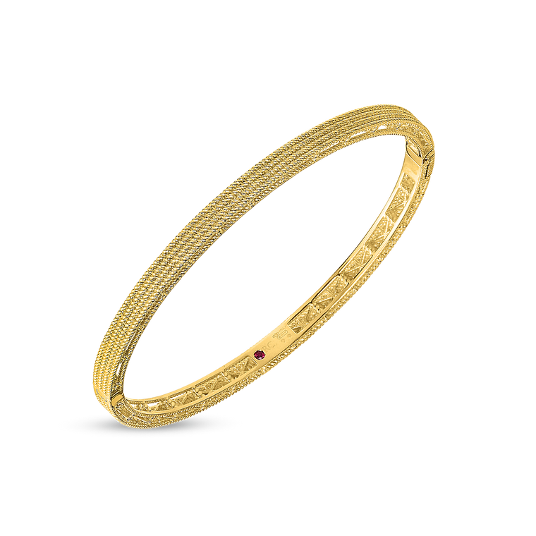 Symphony Barocco Bangle-Roberto Coin-Duncan & Boyd Jewelers