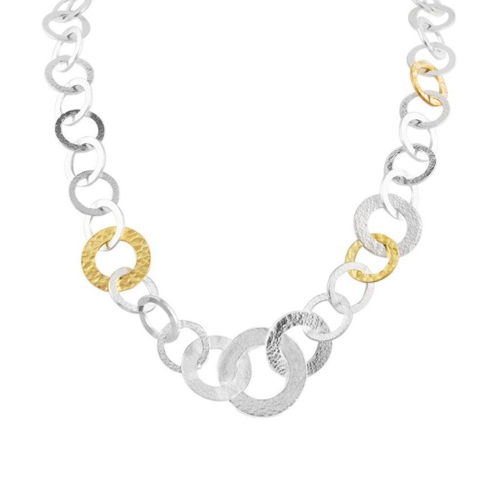 Tapered Mango Link Necklace-Gurhan-Duncan & Boyd Jewelers