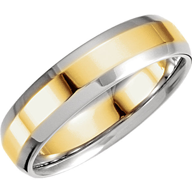 Two-toned Comfort Fit Band-Duncan & Boyd Jewelers-Duncan & Boyd Jewelers