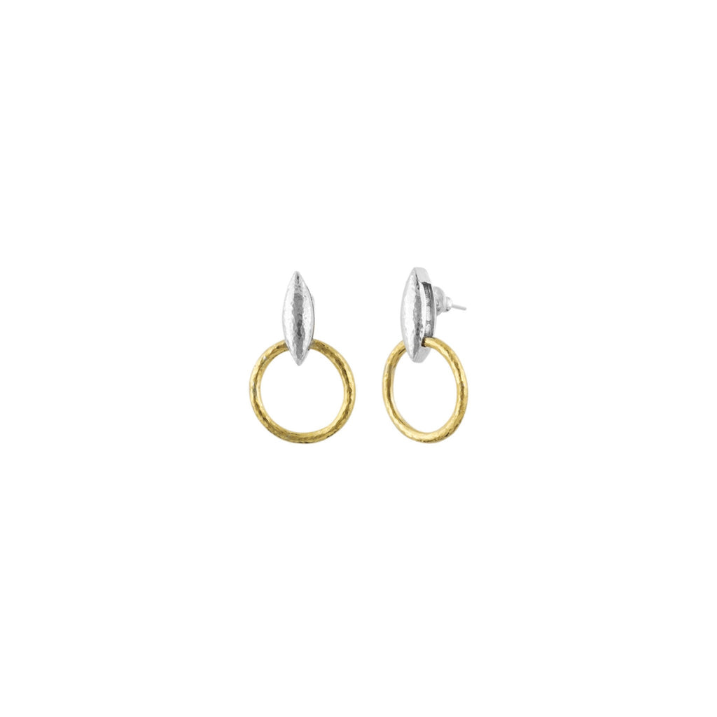 Wheatla Two-Toned Earrings-Gurhan-Duncan & Boyd Jewelers
