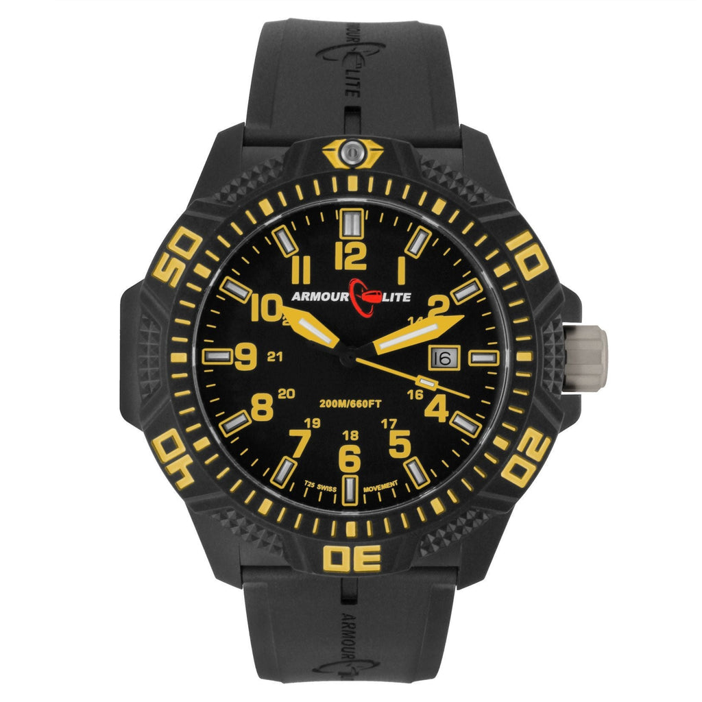 Yellow and Black Caliber Series-ArmourLite-Duncan & Boyd Jewelers