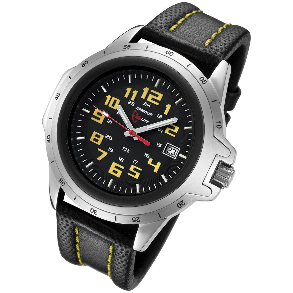 Yellow Officer Series Watch-ArmourLite-Duncan & Boyd Jewelers
