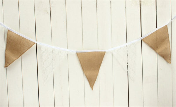 Vintage Lace & Burlap Wedding Garland