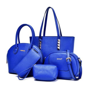 5 Piece Handbag Set - RDevine Fashion (Wedding & Bridal)