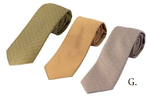 Microsilk Necktie Trio - RDevine Fashion (Wedding & Bridal)