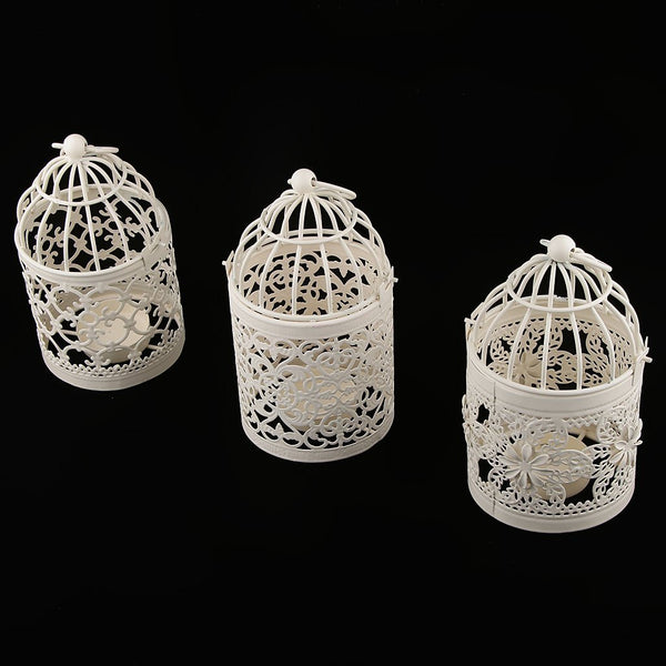 Metal Birdcage Hanging Tea Light Candle Holder - RDevine Fashion (Wedding & Bridal)