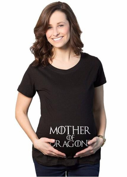 "RD Glow- ""Mother of Dragons"" T-Shirt - RDevine Fashion (Wedding & Bridal)"