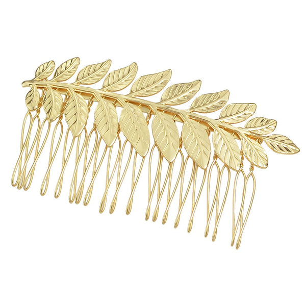 Leaf Design Hair Comb - RDevine Fashion (Wedding & Bridal)