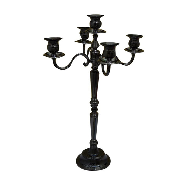 European Style Five-Candle Candelabra - RDevine Fashion (Wedding & Bridal)