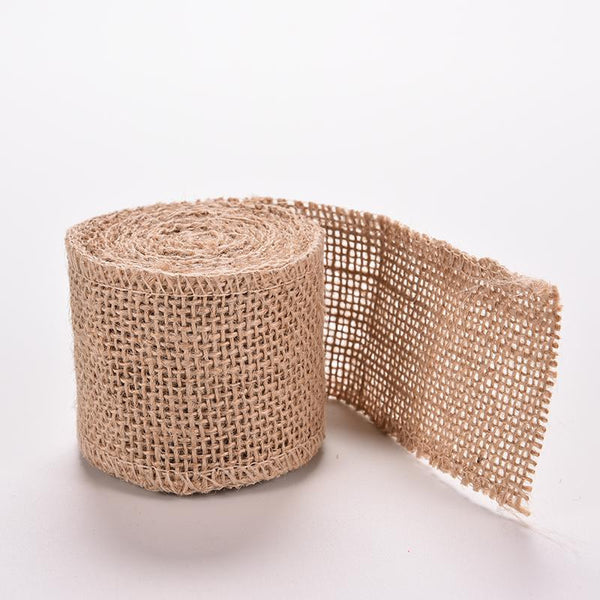 Jute Hessian Burlap Ribbon - RDevine Fashion (Wedding & Bridal)