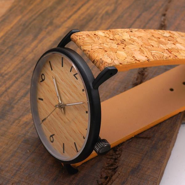 Bobo Bird Cork Band Watch - RDevine Fashion (Wedding & Bridal)