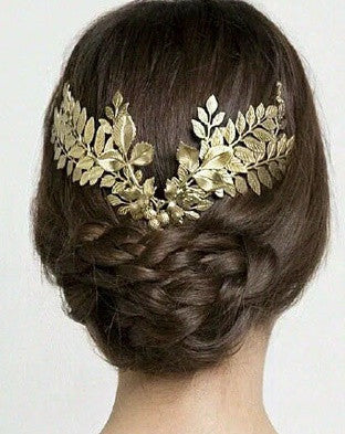 Grecian Leaf Crown - RDevine Fashion (Wedding & Bridal)