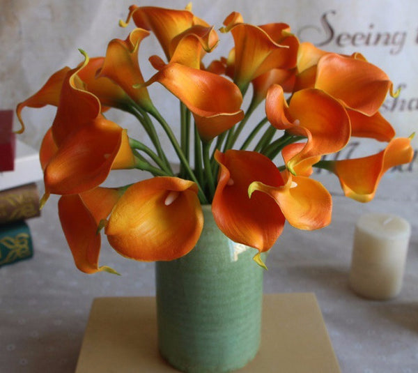 Real Touch Calla Lily Arrangement