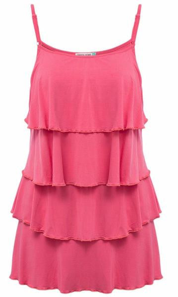 RD Glow- Tiered Ruffle Camisole