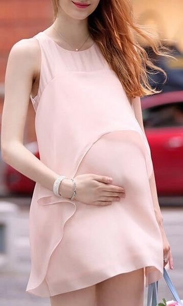 RD Glow- Layered Chiffon Dress