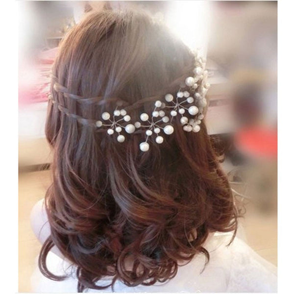 Pearl Flower Hairpins - RDevine Fashion (Wedding & Bridal)