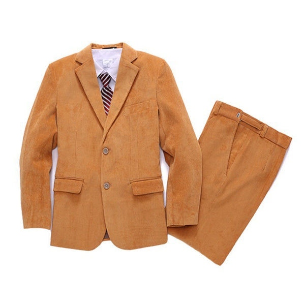 Ring Bearer- Three Piece Corduroy Suit