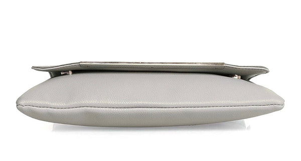 Over-sized Faux Suede & Leather Envelope Clutch - RDevine Fashion (Wedding & Bridal)