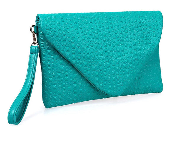 Over-sized Studded Envelope Clutch - RDevine Fashion (Wedding & Bridal)