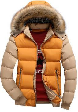RD Color Blocked Goose Down Jacket