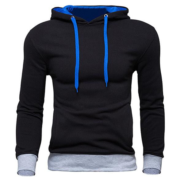 RD Men's- Color Blocked Leisure Pullover Hoodie