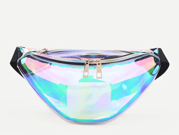 Iridescent Festival Fanny Pack