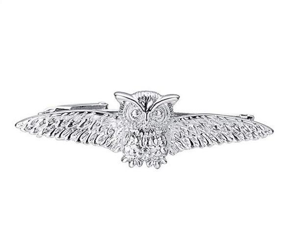 Wise Owl Tie Bar