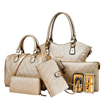 6-Piece Handbag Set - RDevine Fashion (Wedding & Bridal)