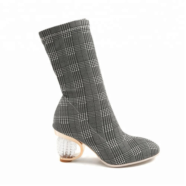 "The ""Clueless"" Plaid Boot"
