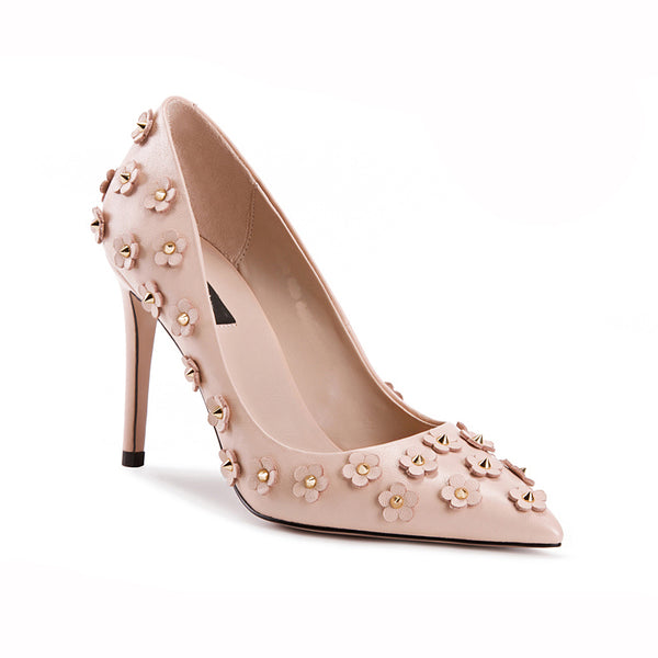 "Pink Blush ""Daisy"" Stiletto Heel"