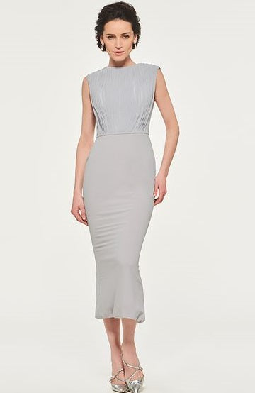 Mother of the Bride Dresses in Dove Gray