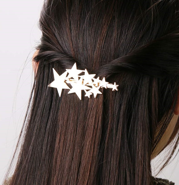 Minimalist Star Dust Hair Pin - RDevine Fashion (Wedding & Bridal)
