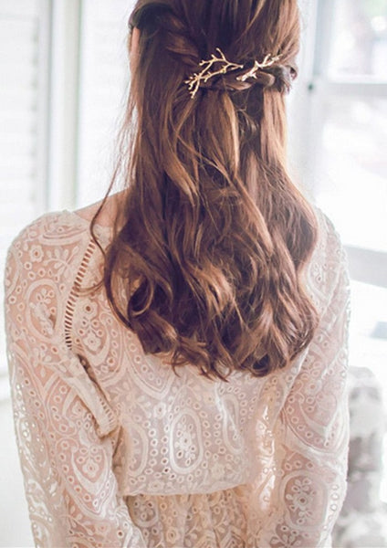 Minimalist Boho Branch Hair Pin - RDevine Fashion (Wedding & Bridal)