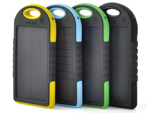 Rugged Terrain Solar Rechargable Powerbank 5000mAh - ShopEmpires