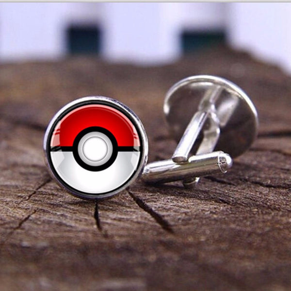 Limited Edition Pokeball Cufflinks - ShopEmpires