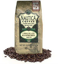 Chocolate Raspberry Organic Ground Coffee 12oz