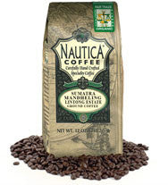 Sumatra Blend  Fair Trade Organic Ground Coffee 12oz
