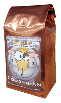 Wired Goat Colombian Coffee