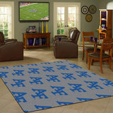 Air Force University Repeating Logo Rug